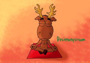 meditationsraum farbig beschriftet